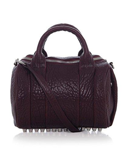 Alexander Wang Rockie Leather Pebble Bag Beet