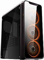 PC Gamer AMD Ryzen 5 3400G 16GB SSD 480GB Fonte 500W Windows 10 CertoX Stream 7111