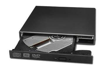 Grabadora de DVD externa USB - Para ordenador portátil HP Dell Apple IBM Sony Toshiba Acer Asus: Amazon.es: Electrónica