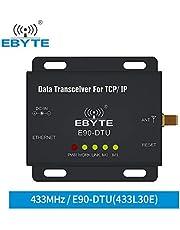 EBYTE Ethernet LoRa TCXO 433MHz 30dBm 1W E90-DTU-433L30E Transceptor Inalámbrico de Largo Alcance IoT PLC 8000m Distancia 433 MHz Módulo RJ45 rf