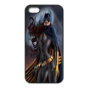 IPhone 5,5S Case, the Stronger Batgirl Case for IPhone 5,5S {Black}
