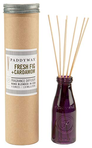 Paddywax Relish Collection Reed Oil Diffuser Set, Fresh Fig & Cardamom