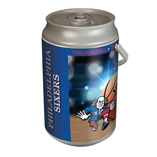 NBA Philadelphia 76ers Insulated Mega Can Cooler, 5-Gallon by Picnic Time