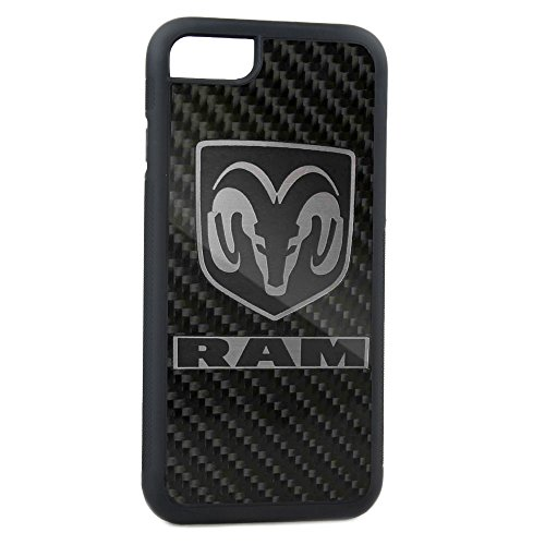 Cell Phone Case Rubber Hemi 426 Logo FCG Orange Black iPhone 6 ()