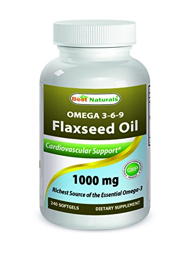 ed Oil 1000 mg 240 Softgels - Omega-3-6-9 for Heart Health ()