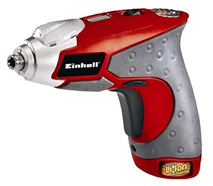 Einhell RT-SD - Destornillador inalámbrico, 3,6 Li, Litio-Ion, 5 MB ...