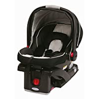 Graco SnugRide Click Connect 35 Infant Car Seat Onyx, Black
