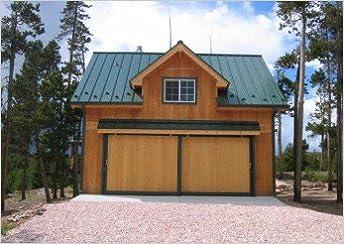 Bethany Coach House Garage   Pole Barn Plans (American Wood Pole Barn  Plans): Donald J. Berg: Amazon.com: Books