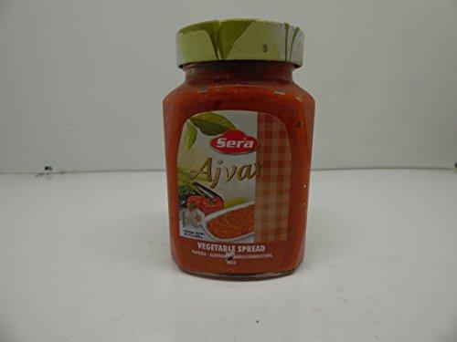 Sera Turkish Mild Ajvar Vegetable Spread 24.33oz - Mild Spread Vegetable