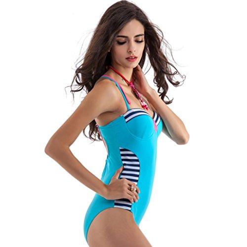 Frauen Bikini, Barbarer Frauen Bikini Badeanzug gepolstert Set