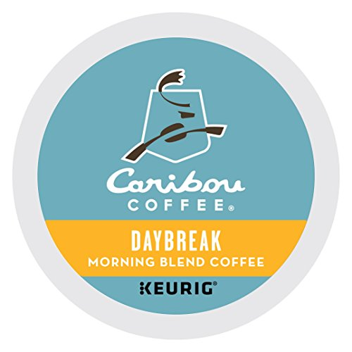 Caribou Coffee Daybreak Morning Blend, K-Cups for Keurig Brewers, 96-Count by Caribou Coffee