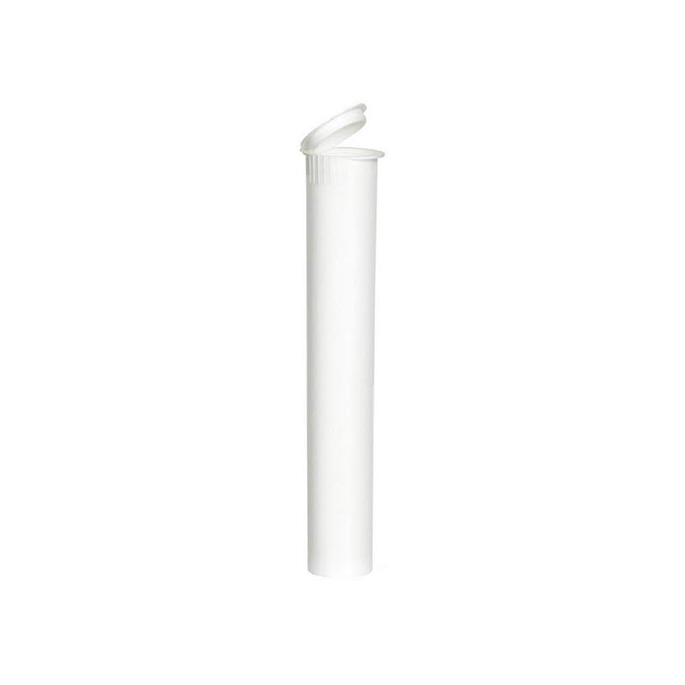 Pre-Roll Joint Tubes Blunt Tubes 116mm White Child Resistant 4.5 Inches (1000) by MJ-Pak