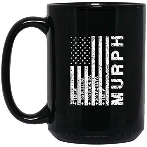 Memorial Day Murph shirt Take The Challenge gift Tank Top (Mug 15oz; Black; 15oz) ()
