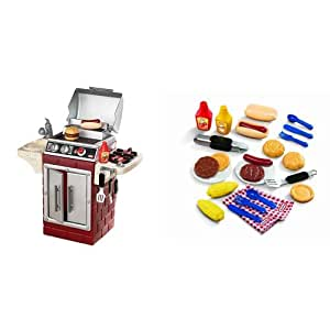 Amazon.com: Little Tikes Backyard Barbeque Get Out 'N ...
