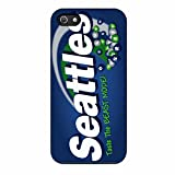 Skittles Seattle Seahawks iPhone 5 Case / iPhone 5s Case (Black Plastic)