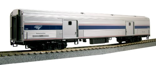 Kato USA Model Train Products Amtrak Baggage Car Phase IVb #1221 Amtrak Train Cars