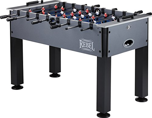 Fat Cat Rebel 4.5' Foosball Table with Easy Snap Rods for...