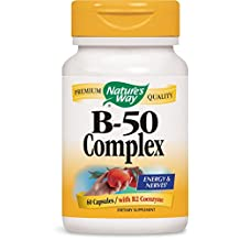 B-50 Complex by Nature's Way - 60 capsules