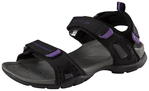 Trek-Sandale Sequel W - schwarz/purple, Größe INT:37