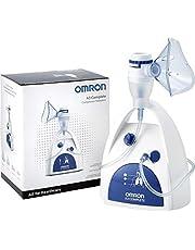 OMRON A3 Complete 3-in-1 aerosolvernevelaar – Voor behandeling van de bovenste, middelste en onderste luchtwegen, geschikt voor verkoudheden, infecties, allergieën en astma