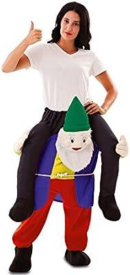 Disfraz de Gnomo a hombros para adultos: Amazon.es: Juguetes y juegos
