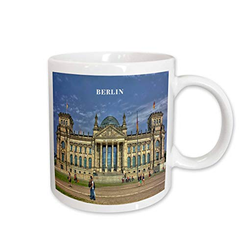 Berlin Government Buildings - 3dRose Lovely Architecture Berlin Government Building Germany Ceramic Mug, 11-Ounce