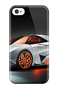 High-end Case Cover Protector For Iphone 4/4s(lamborghini Egoista Concept Car)