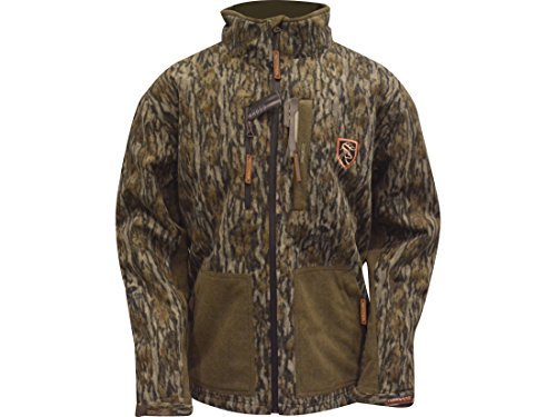 Drake Non-Typical Men's Hydro-Hush Full Zip Waterproof Insulated Scent Control Jacket Polyester for sale