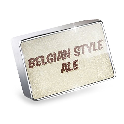 Floating Charm Belgian Style Ale Beer, Vintage style Fits Glass Lockets, Neonbl Belgian Style Ale