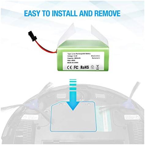 Ziclean Furtiv Saugroboter Pile Batterie 14.4 V 2200 mAh pour E