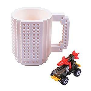 Amazoncom Kengel Build On Brick Mug Coffee Cup Diy Type Plastic