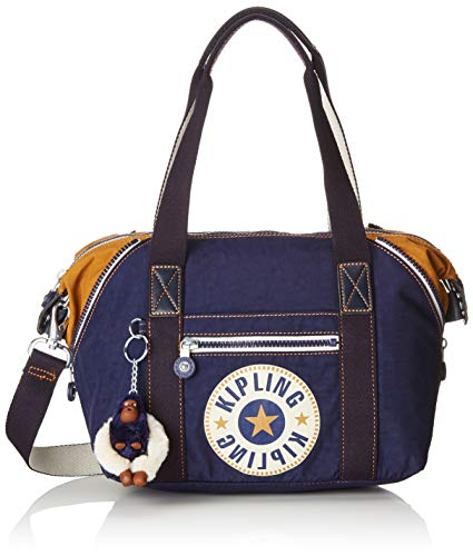Kipling Art Mini, Women's Satchel, Blue (Active Bl)