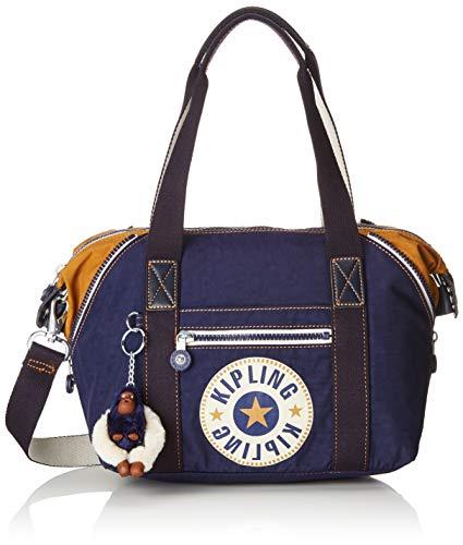 Kipling Art Mini, Women's Satchel, Blue (Active Bl) (Art Womens Bag Handbag)