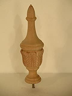 Amazon Com Wood Finial Choose From 5 Wood Species Bed Post
