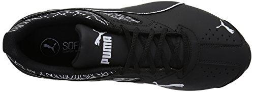 Puma Mens Tazon 6 Frattura Fm Cross-trainer Scarpe Puma Black-puma Nero