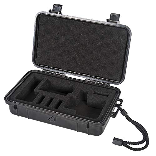 Smatree Waterproof Hard Case Compatible for Gopro Hero 8/7/6/5/Hero 2018 (Camera and Accessories NOT Included)