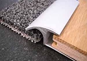 Roppe Vinyl Reducers Profile 196 12 Ft Carpet Reducer 3 8