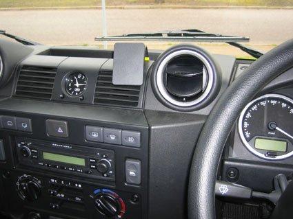 Brodit 654077 Proclip Centre Mount for Land Rover Defender 07-16 (For all countries) - Black Brodit-UK