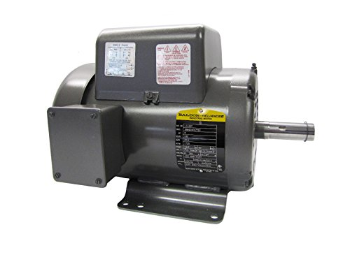 Baldor L1430T General Purpose AC Motor, Single Phase, 184T Frame, ODTF Enclosure, 5Hp Output, 1725rpm, 60Hz, 230V Voltage