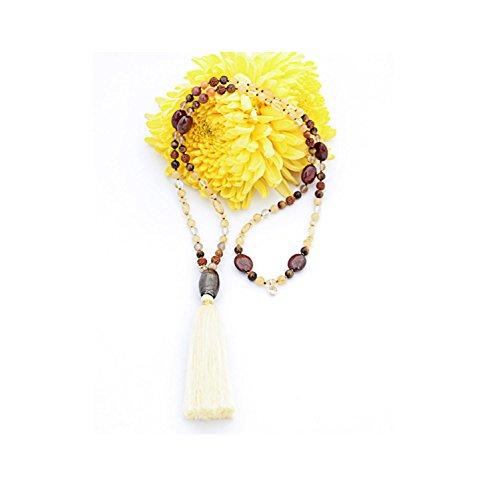 Indra Chain (Crystal Smoky Quartz Earrings)