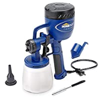 HomeRight C800766, C900076 Power Painter, Home Sprayer Tool, HVLP Spray Gun for Painting Projects, Finish Max