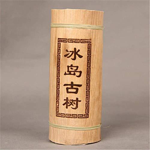 Yunnan Puerh tea Dragon pillar bamboo tube raw tea Iceland old tree puer 500g (1.1LB) Pu'er tea Green tea Puer tea Chinese tea sheng cha healthy food Pu-erh tea Old trees Pu erh tea
