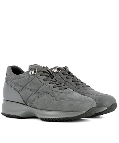 Women's Grey Hogan HXW00N0J1001SG054U Sneakers Suede BTddwxz6q