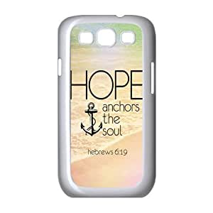 meilz aiaiVintage Retro Anchor Samsung Galaxy S3 I9300 Case Cover TPU Hope Ahchors The Soul Hebrews 6:19 Quotes Watermeilz aiai