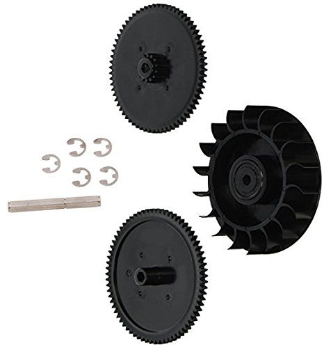 (Drive Train Gear Kit with Turbine Bearing Replacement for Polaris Zodiac 9-100-1132 91001132)