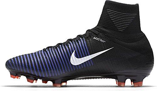 Nike 831940-013, Botas de Fútbol para Hombre Negro (Black / White-Electric Green)