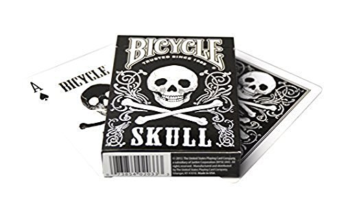 Bicycle Skull Playing Cards (Halloween Playing Cards)