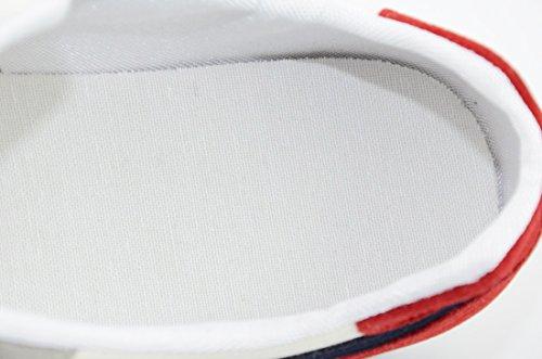 de en rojo moda verano zapatos zapatillas luz de lona de Casual zapatillas zapatos de macho hasta y encaje de hasta verano Casual y rojo Moda macho luz lona encaje Rojo azul azul en RvqaC