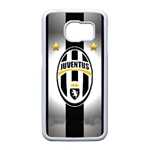 Plastic Case Pmnpfy Samsung Galaxy S6 Edge Cell Phone Case White Juventus Generic Design Back Case Cover