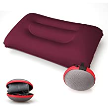 Camping Pillow, Aukee Ultralight Portable Inflatable Blow Up Air Pillows for Outdoor Camping Traveling Hiking Backpacking